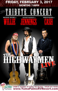 2017-02-03 Highwaymen [SOLD OUT] – Tribute Concert