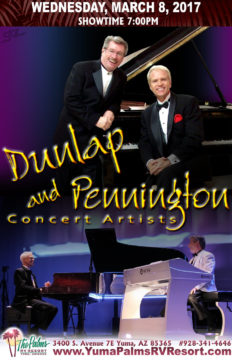 2017-03-08 Dunlap and Pennington – Live Concert