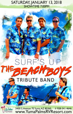 2018-01-13 Beach Boys – Tribute Concert