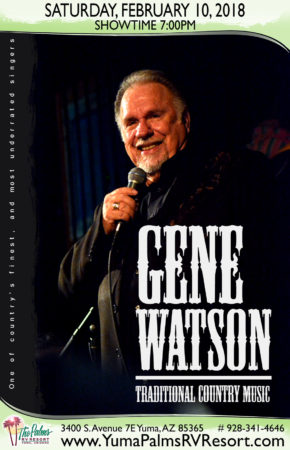 2018-02-10 Gene Watson – Live Concert