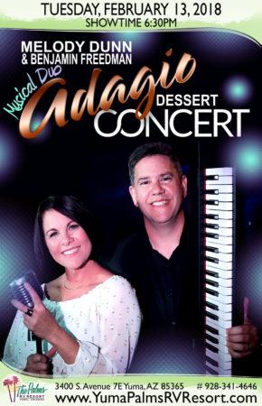 2018-02-13 Musical Duo Adagio – Dessert Concert