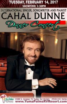 2017-02-14 Cahal Dunne – Dinner Concert
