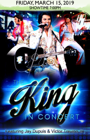 2019-03-15 The King In Concert Elvis Tribute